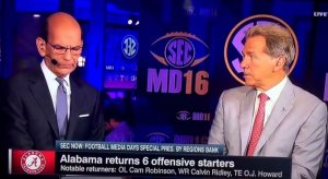 Saban vs. Finebaum