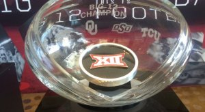 Big 12 Trophy so bad