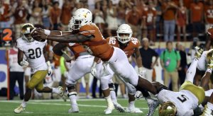 Texas beats Notre Dame in ratings