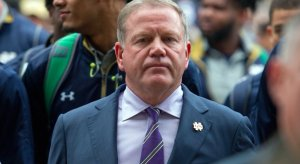 Brian Kelly will be back in 2017.