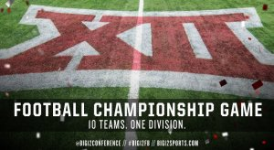 The Big 12 will not split into two divisions before creating its championship game in 2017.