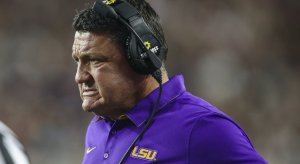 Ed Orgeron at LSU.