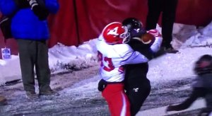 Youngstown state upsets Eastern Washington.