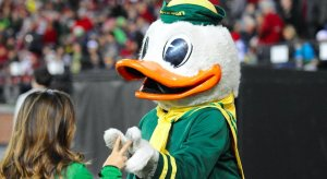 Puddles the duck is making everyone run til they puke.
