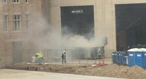 Notre Dame dumpster fire stadium.
