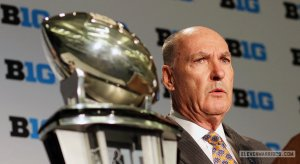 Big Ten Conference commissioner Jim Delany is set to receive more than $20 million in bonus compensation.