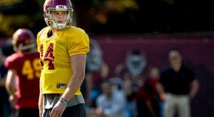 USC quarterback Sam Darnold