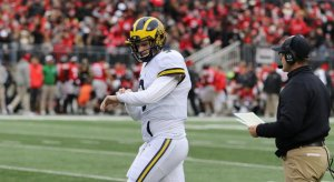 Former Michigan quarterback Wilton Speight