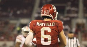 Oklahoma quarterback Baker Mayfield