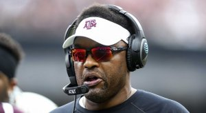 Kevin Sumlin went 51-26 at Texas A&M during his six seasons in College Station.