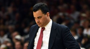 Arizona men's basketball coach Sean Miller is in a load of trouble.