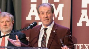 Texas A&M head football coach Jimbo Fisher