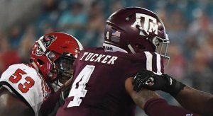 Texas A&M defensive back Derrick Tucker was arrested after getting into a fight over tacos.