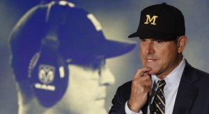 Jim Harbaugh worries about folks lying about depression.