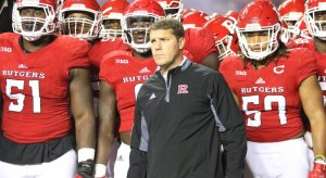 Chris Ash won eight of 40 games as the head coach at Rutgers.