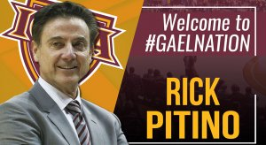 Rick Pitino is back at it