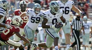 Kansas State shocked the Sooners in Norman.