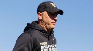 Purdue head coach Jeff Brohm