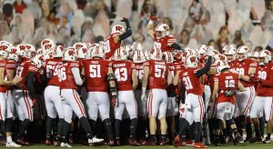 Wisconsin cancels game.