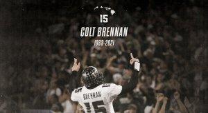 Colt Brennan has passed away.