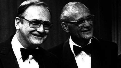 Bo Schembechler & Woody Hayes all fancy