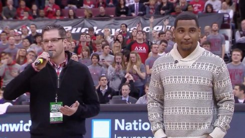 Braxton's Christmas sweater is kind of fly.