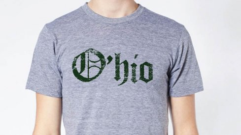 The O'hio tee at Eleven Warriors Dry Goods.