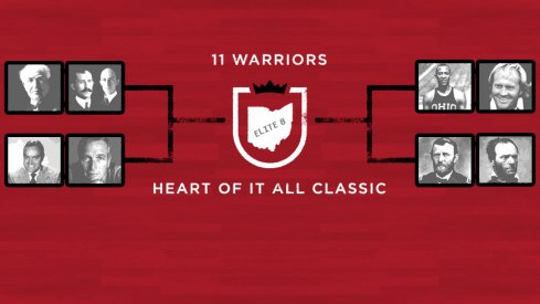 The 11W Heart of It All Classic Elite 8 Field: Edison, the Wright brothers, Hope, Newman, Owens, Nicklaus, Grant and Sherman