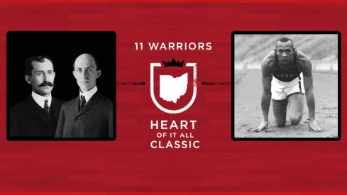 The Wright brothers face Jesse Owens in the finals of 11W's Heart of It All Classic