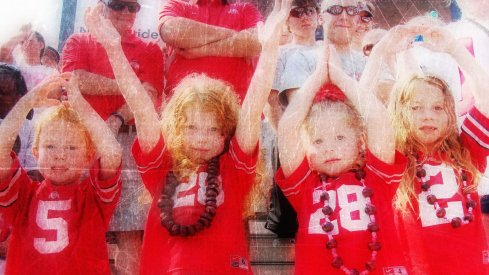 Four kids at an Ohio State game: Not cheap
