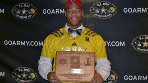 Demetrius Knox' US Army All-American Bowl selection.