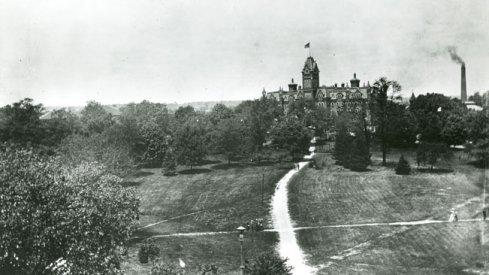 University Hall, 1897 via The Ohio State Library