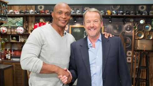 Eddie George and Robert Nickell, CEO of Daddy and Company