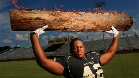 Raekwon McMillan wants a log. You're gonna love it, log.