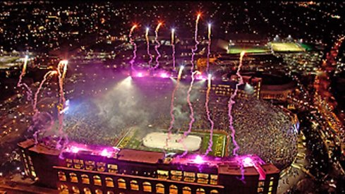 Fireworks at Michigan Stadium? The university's regents said no thank you.