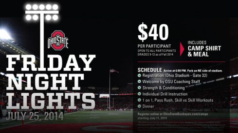 Friday Night Lights is this Friday at Ohio Stadium.
