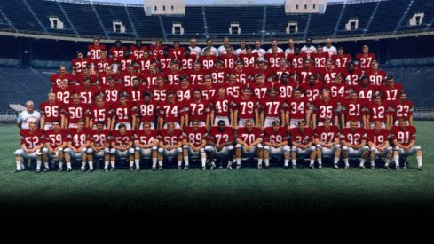 1968 Ohio State football team — Big Ten, Rose and National champions, via The Ohio State Archives