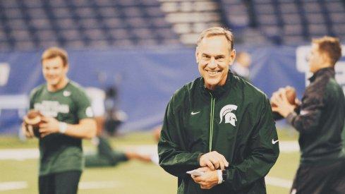 Mark Dantonio has Michigan State thinking big things in 2014.