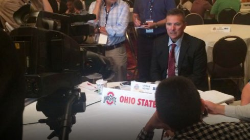 Urban Meyer holds court at day two of Big Ten Media Days