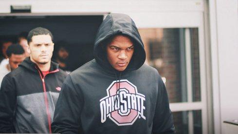High expectations accompany Ohio State linebacker Raekwon McMillan.