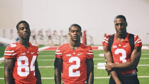 Corey Smith, Dontre Wilson, and Michael Thomas