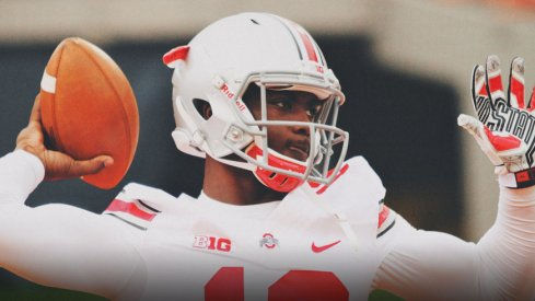 J.T. Barrett under the microscope.