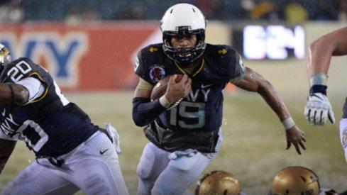 Versatile Navy quarterback Keenan Reynolds
