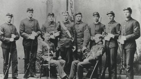 Cadet Officers of Company B