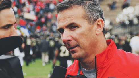 Urban Meyer at Purdue, 2013 [ElevenWarriors.com]