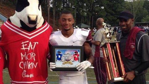 Ohio State commitment Carlton Davis