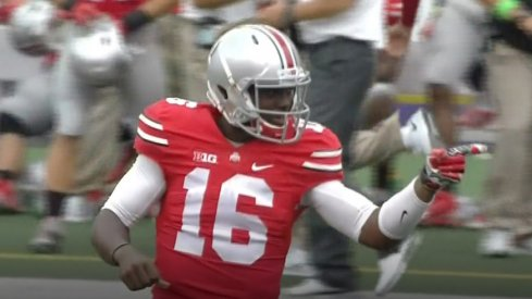 J.T. Barrett had an outstanding debut for Ohio State.
