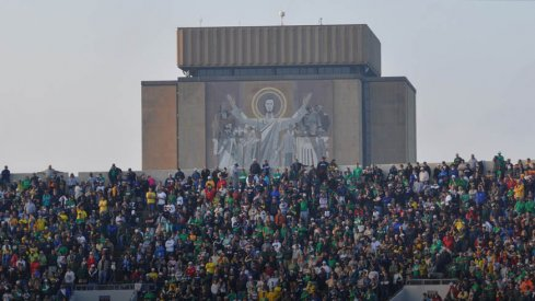 Touchdown Jesus and Notre Dame await Ohio State in a future series.