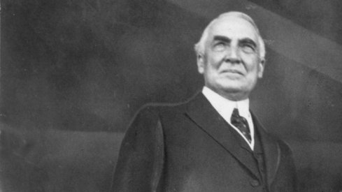 YOU'RE GOD DAMN RIGHT: President Warren G. Harding is back to making the haterz seasick.