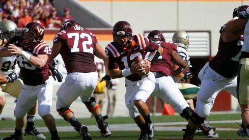 Junior quarterback Michael Brewer was efficient in Virginia Tech's opener.
